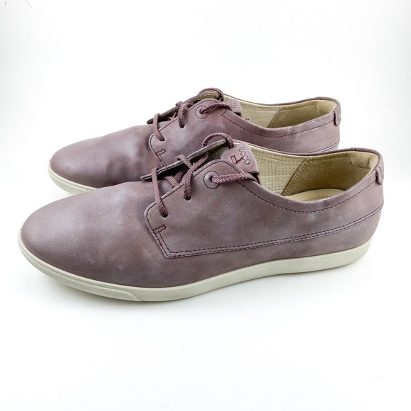 Ecco Soft Leather Oxford Dress Sneakers 8.5